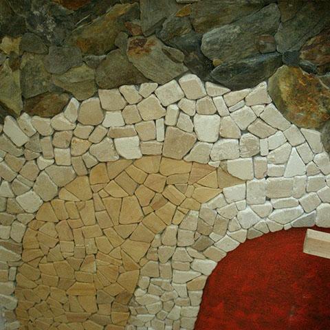 kostka z kamienia